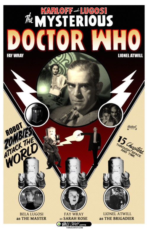 MYSTERIOUS DOCTOR WHO POSTER
